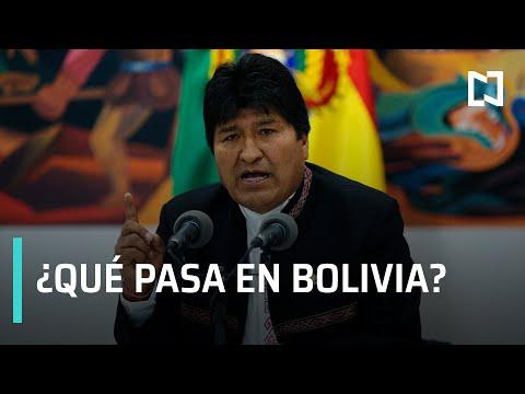 ¿Qué pasa en Bolivia? | Evo Morales renuncia a la presidencia