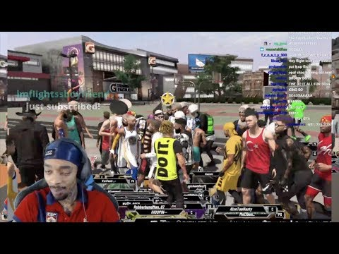 FlightReacts GETS VIP'd OFF THE SPOT BY LIL PUMP & MADE VIRGIN HATER CRY IN RAGE NBA 2K20