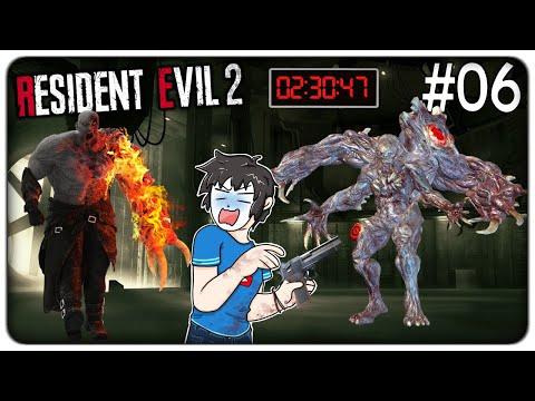 SCONTRO FINALE CON MR.X E IL DR. BIRKIN PRIMA CHE ESPL0DA TUTTO   Resident Evil 2 Remake ep. 06