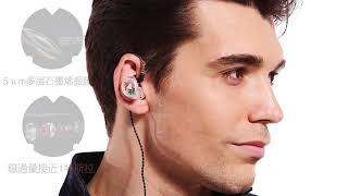 QKZ VK1 3.5mm In-ear Wired Headphone with Microphone