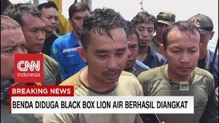 Penjelasan Proses Pengangkatan Benda Diduga Black Box Lion Air