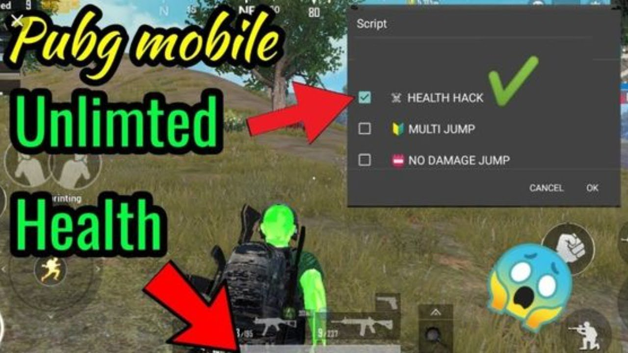 UNLIMITED PUBG MOBILE HACKS...! WALL HACK, SPEED HACK, CAR HACK, UNLIMITED HEALTH HACK, INVISIBLE HK