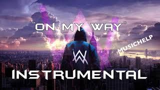 Alan Walker, Sabrina Carpenter & Farruko - On My Way INSTRUMENTAL/KARAOKE (Prod. by MUSICHELP)