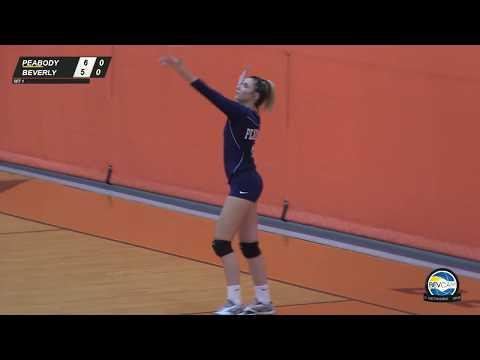 Beverly vs Peabody High School Volleyball