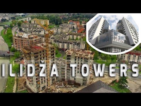 Ilidža Towers - Stambeno poslovni objekti u izgradnji na Ilidži