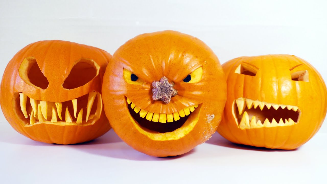 How to carve halloween pumpkins youtube