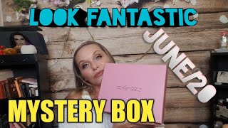 #lookfantastic 🇨🇦JUNE LOOK FANTASTIC MYSTERY BOX. WEEKS LATE, REPEATS?