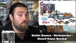 Battle Bosses - Kickstarter - Board Game Review