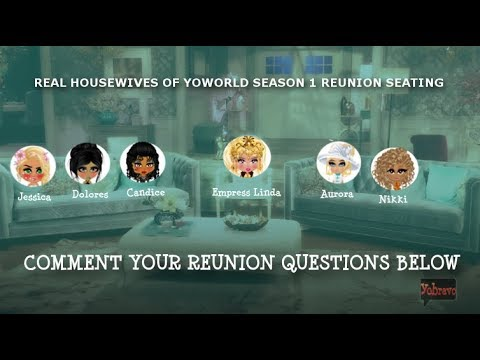 REUNION SEATING- POST YOUR QUESTIONS (The Real Housewives of Yoworld) Season 1