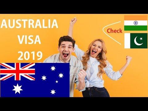 Australia Visa 2019 - How To Check Online Australia Visa