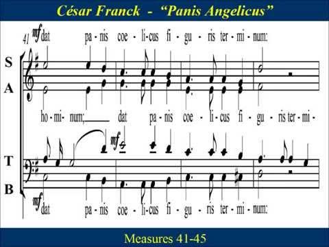 Panis Angelicus - Franck - Chorus - Score