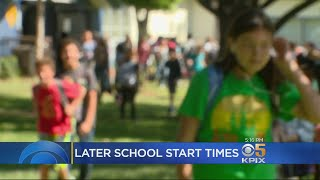 Teens May Like Later School Start Times But Some Parent39;s Don39;t