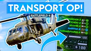 We Made The Transport Heli OVERPOWERED in Battlefield 4...
