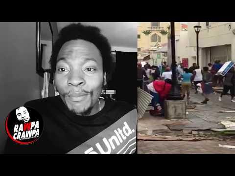 St Martin Looting  after  Hurricane Irma ( 9 Sep 2017 ) Rawpa Crawpa Vlog