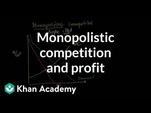 Monopolistic competition and economic profit   Microeconomics   Khan Academy