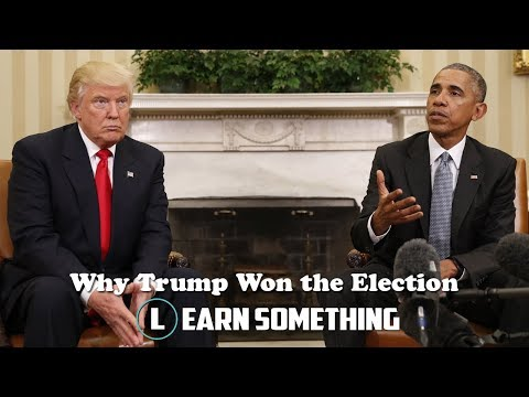Why Trump Won the Election -  (ANALYSIS) | Learn Something