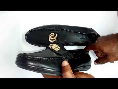 Black Leather Gucci