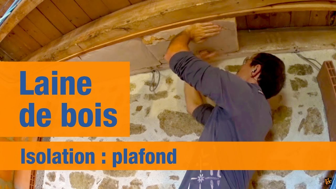 isolation plafond en r novation laine de bois et. Black Bedroom Furniture Sets. Home Design Ideas