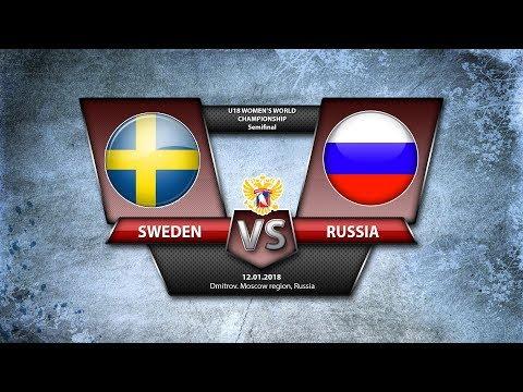WW U18. SF Sweden - Russia