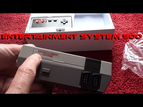 NES Classic Mini clone - 'Entertainment System 500' - System Review