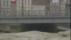 Stadt Salzburg Hochwasser 2002. Zeit Im Bild (ZIB) ORF 2