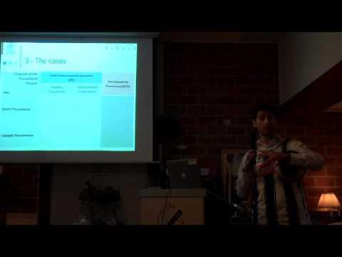 Jon Mikel Zabala: Innovative procurement versus pre-commercial procurement?