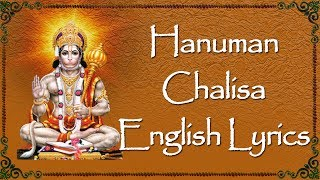 Lord Hanuman Songs - Hanuman Chalisa  with English Lyrics