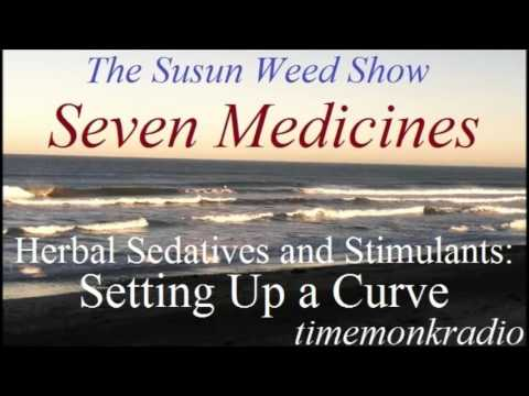 The Susun Weed Show  ~  Seven Medicines: Herbal Sedatives and Stimulants: The Curve  ~  SWS1180