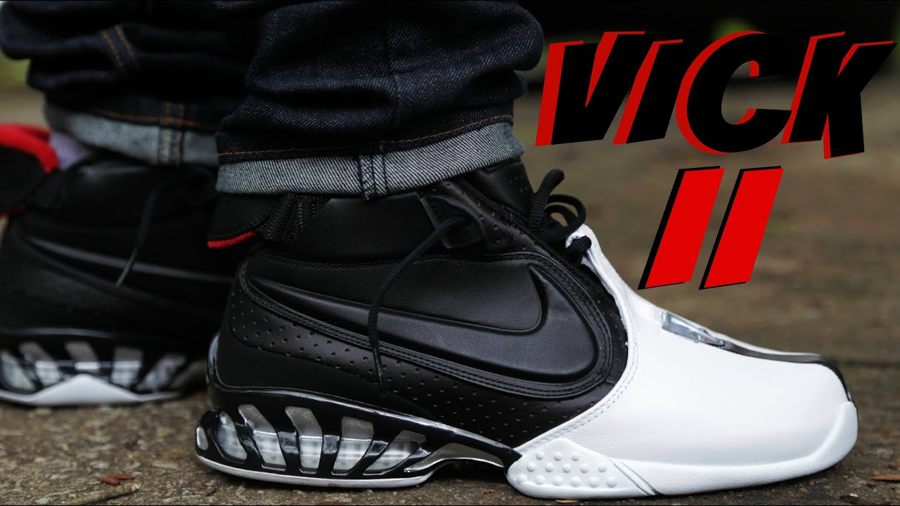 Men's Nike Air Zoom Vick 2 II White Varsity Red Sneakers : O71a6675