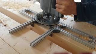 combination router base diy adapterplatte f r die bosch. Black Bedroom Furniture Sets. Home Design Ideas