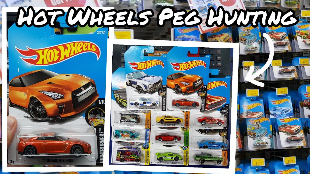 Hot Wheels Peg Hunting Toys R Us Score Again Youtube