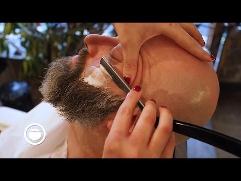 Wet Shave With Maintenance Beard Trim at Barbershop   Cut and Grind