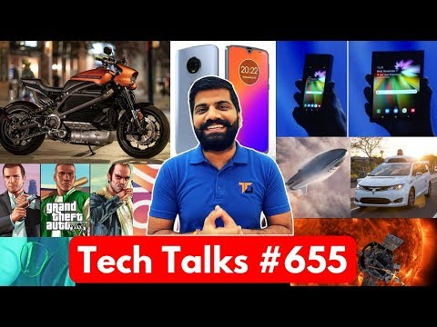 Tech Talks #655 - Samsung Folding Phone, Moto G7, BFR Mini Launch, Messenger Update, Instagram Hindi