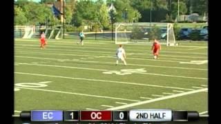 2011-09-06 Elmhurst College Mens Soccer vs Olivet College
