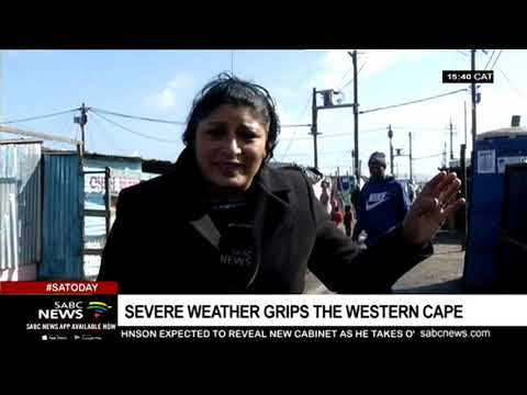 Severe Weather Grips The Western Cape