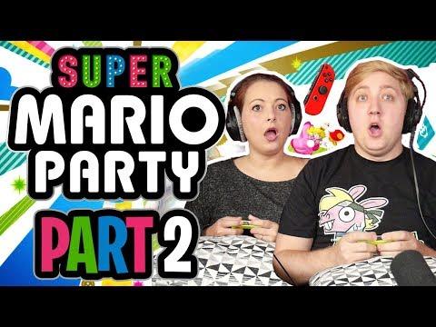 Super Mario Party Gameplay - Part 2 - LAKITU, WHY?!