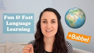 Baixar A FUN & FAST WAY TO LEARN LANGUAGES | Babbel review