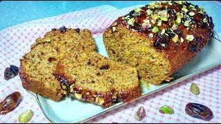 Финиковый кекс с орехами. Вкусно, просто и быстро