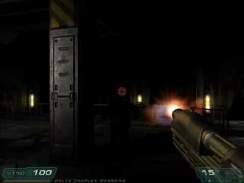 Paul's Gaming - Doom 3 part36 - Train Wreck |