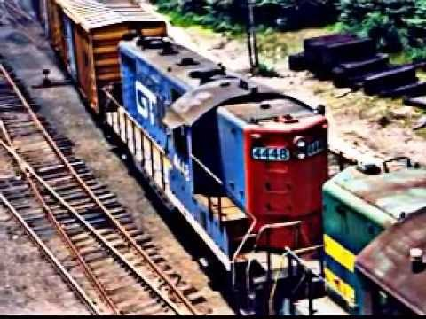 Fallen Flag Central Vermont Railway Slideshow