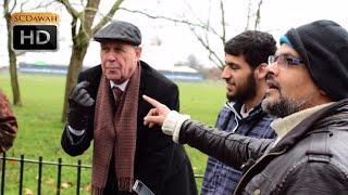 Hadoken! Ended in one blow! Hashim vs Christian | Speakers Corner | Hyde Park