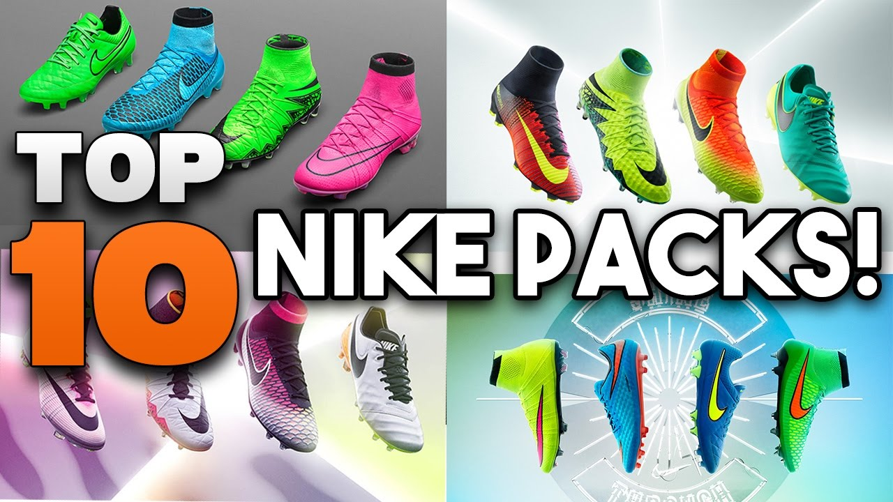 b5b3b9a0afcc Top 10 Nike Football Boots Packs of ALL TIME!! - YouTube