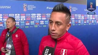 Declaraciones Christian Cueva luego del Perú vs Dinamarca