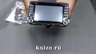 Штатная магнитола VW овальная RNS510 ver2 (копия оригинала) поддержка всех сервисных функций авто(Купить: http://ksize.ru/art-00000008543 http://ksize.ru Интернет—магазин автозвука и аксессуаров., 2014-09-18T07:29:44.000Z)