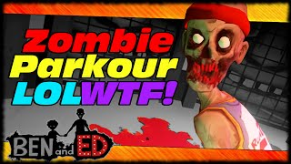 ben ed insanely hilarious zombie parkour game ben ed 60 fps gameplay