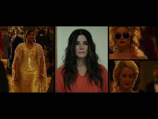 女性版オーシャンズ!サンドラ・ブロック、ケイト・ブランシェット、アン・ハサウェイが集結した映画『オーシャンズ8』特報