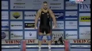 1998 World Weightlifting +105 Kg Snatch.avi