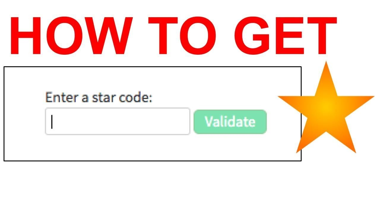 How To Get Roblox Star Creator Codes Youtube