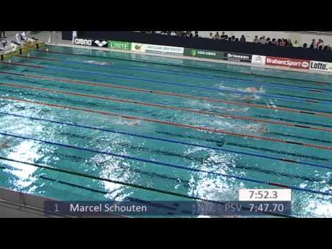 #11-3 - Men 1500 m Freestyle - Eindhoven Swim Cup 2015   Zwemmen