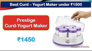 Thick Curd Maker Machine under…